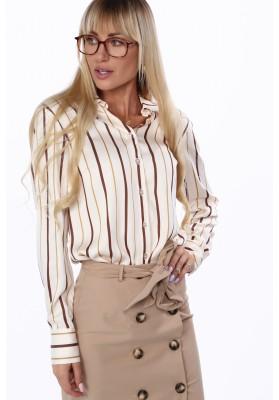 Elegancka koszula damska w paski 0316