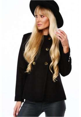 Modna kurtka damska z wełną 0350