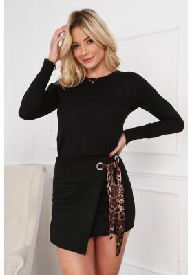 Elegancka mini spódnica 0370