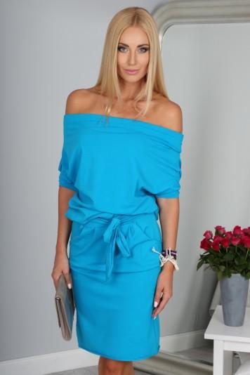 Sukienka Morski Błękit 9978