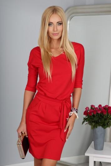 Sukienka Czerwona 9729