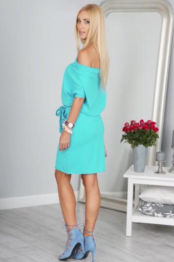 Sukienka Miętowa 9978