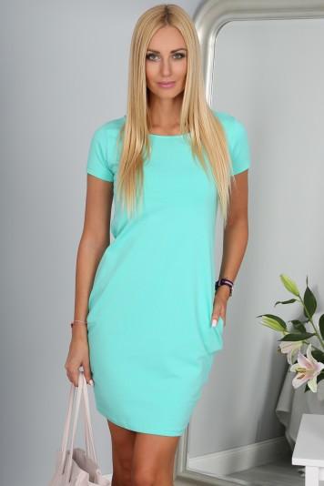 Sukienka Miętowa 9967