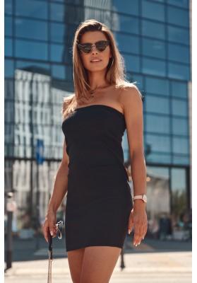 Nadčasová sukně / šaty pouzdrového střihu, černá