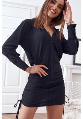 Jemné, nadčasové šaty, černé