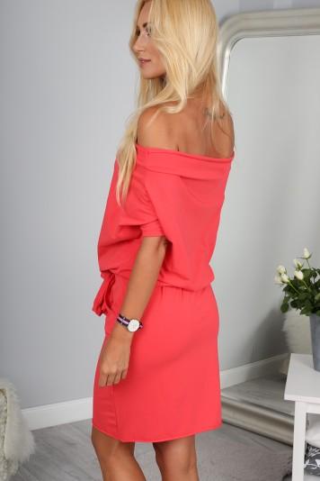 Sukienka Koralowa 9978