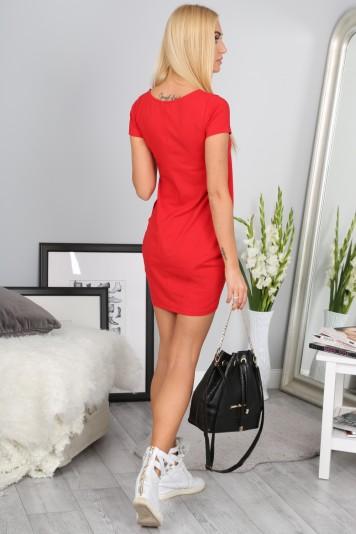Sukienka Czerwona 9967