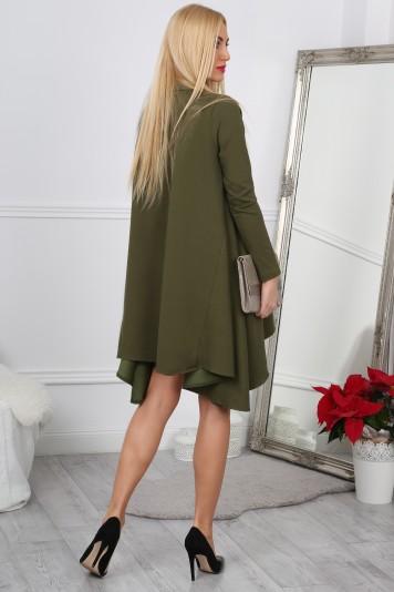 Khaki Sukienka Oversize 11030