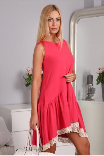Sukienka Koralowa 2571