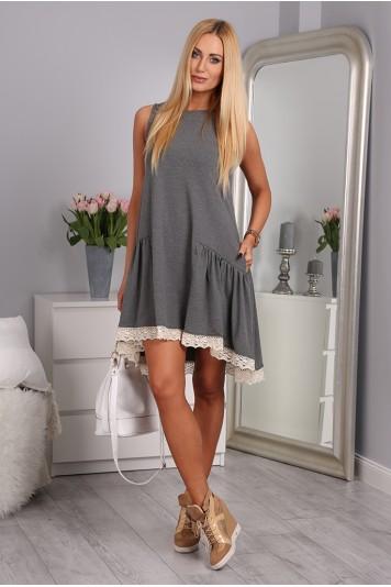Sukienka Ciemnoszary 2571