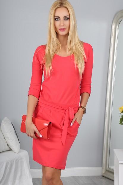 Sukienka Koralowa 9729