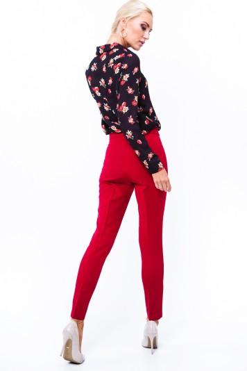 Spodnie eleganckie czerwone MP44422