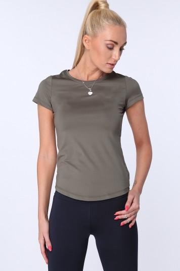 T-shirt sportowy khaki MR16620