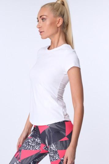 T-shirt sportowy biały MR16620