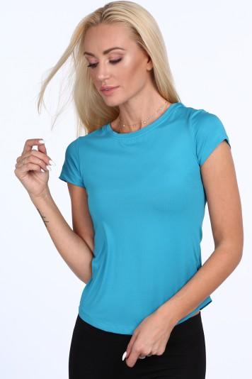 T-shirt sportowy niebieski MR16620