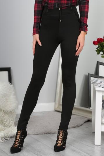 Czarne Spodnie 9484