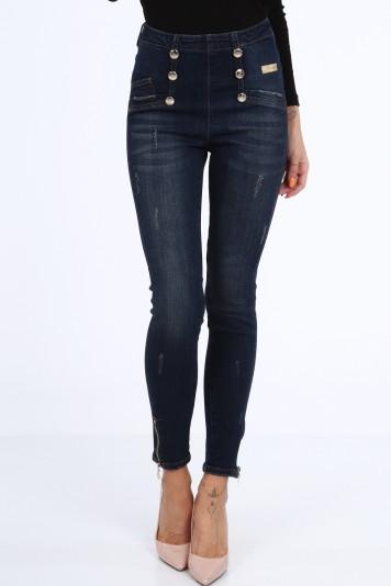 Niebieskie jeansy na co dzień RR7046