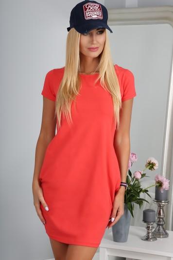 Sukienka Koralowa 9967