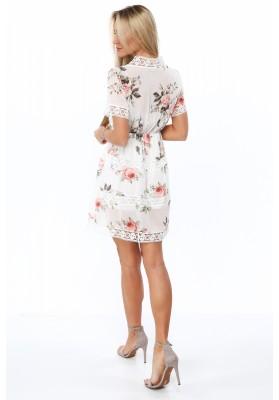 Nádherné, asymetrické, oversize bordové šaty.