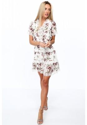 Nazberkané, asymetrické šaty, navy