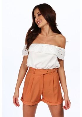 Minimalistické šaty s 3/4 rukávmi, bordové