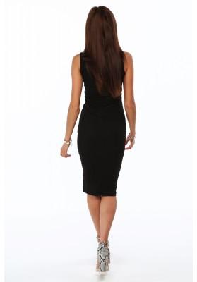 Sukienka mini musztardowa TA2393
