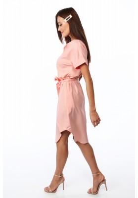 Letní, sportovní, smetanové midi šaty