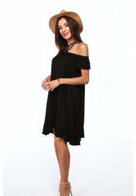 Letní indigové šaty