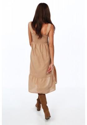 Vzdušné, elegantní šaty zdobené krajkovým vsazením, navy
